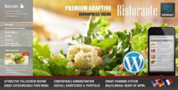 Ristorante Fullscreen Restaurant Wordpress Theme
