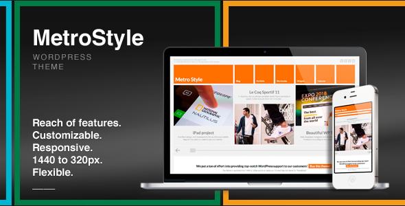 MetroStyle — адаптированная тема для WordPress