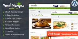 Food Recipes - шаблон для рецептов