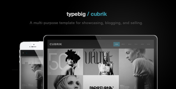 Cubrik Wordpress шаблон