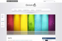 Onion - Тема WordPress для блогов об гаджетах Apple