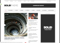 Bolid - портальная тема для wordpress
