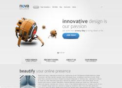 Nova - премиум тема Wordpress