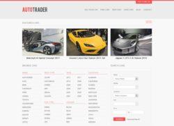AutoTrader - стильная премиум тема
