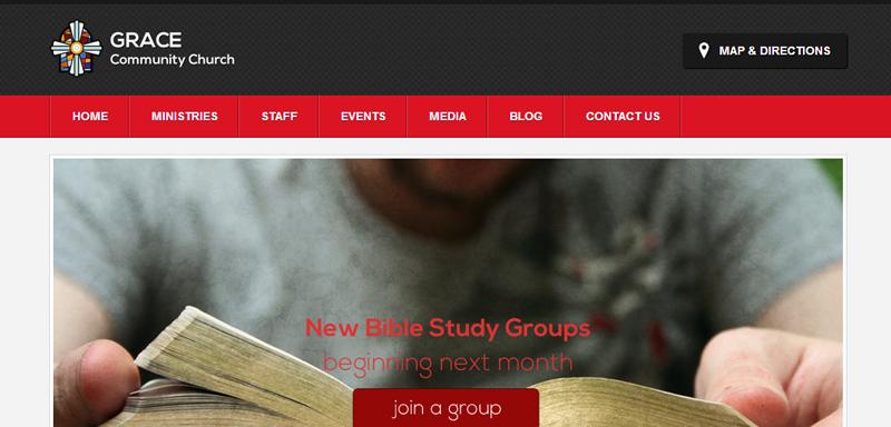 Zion - шаблон для вебсайта церкви