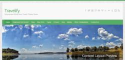 Travelify - шаблон на тему Путешествия