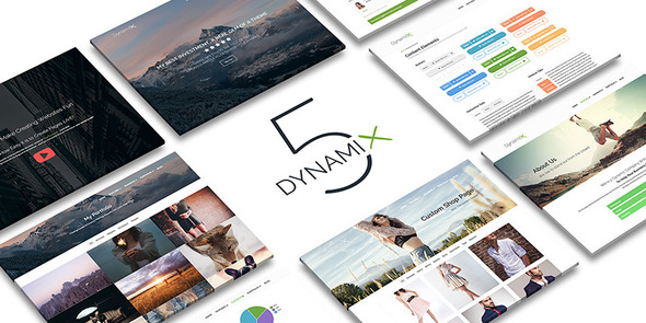 Шаблон DynamiX | Theme DynamiX