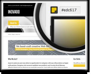 Шаблон Inovado | Theme Inovado