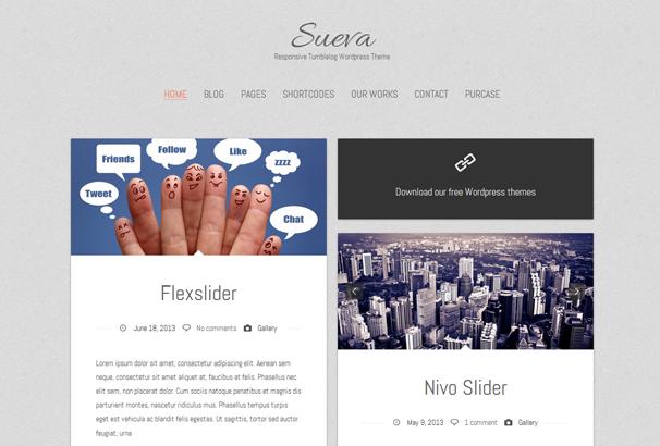 Шаблон Sueva | Theme Sueva