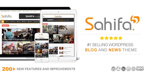 Шаблон Sahifa | Theme Sahifa