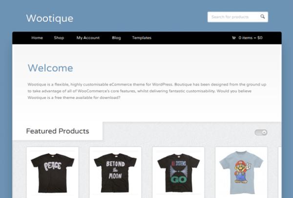 Шаблон Wootique | Theme Wootique