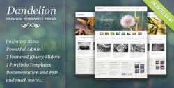 Шаблон Dandelion | Theme Dandelion