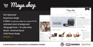 Шаблон MayaShop | Theme MayaShop