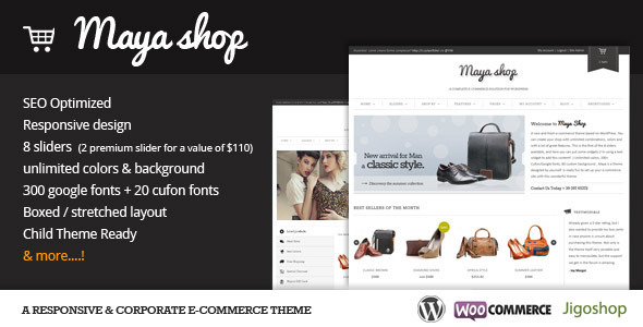 Шаблон MayaShop | Theme MayaShop
