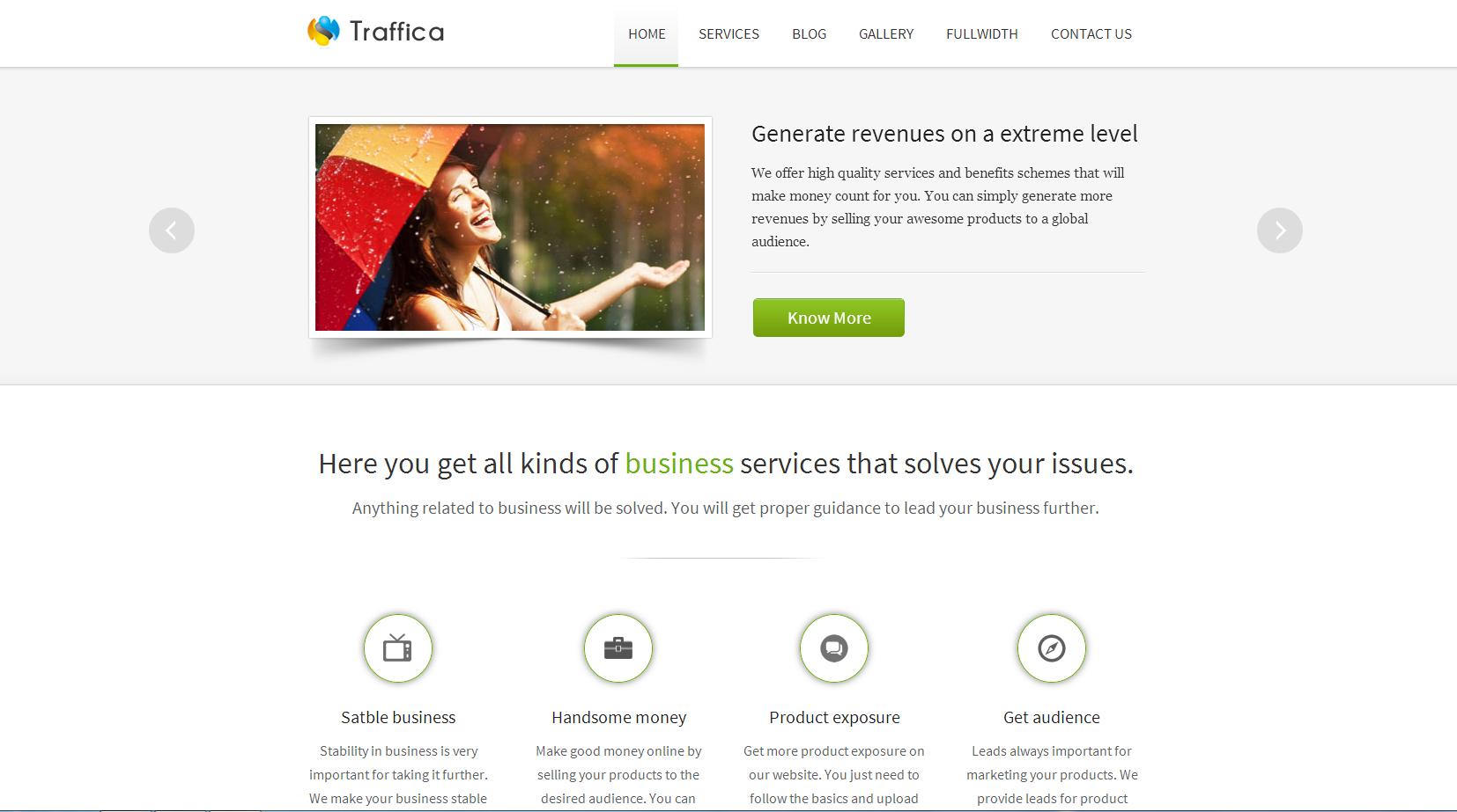 traffica wordpress