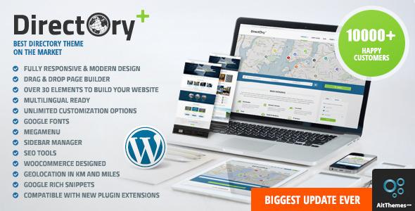 Шаблон Directory Portal | Theme Directory Portal