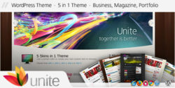 Шаблон Unite | Theme Unite