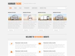 Шаблон Hannari | Theme Hannari