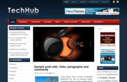 Шаблон TechHub | Theme TechHub