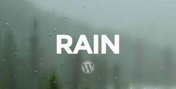 Шаблон RAIN - Responsive | Theme RAIN - Responsive