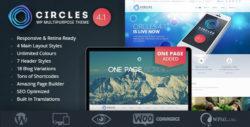Responsive WordPress MultiPurpose Theme - Circles