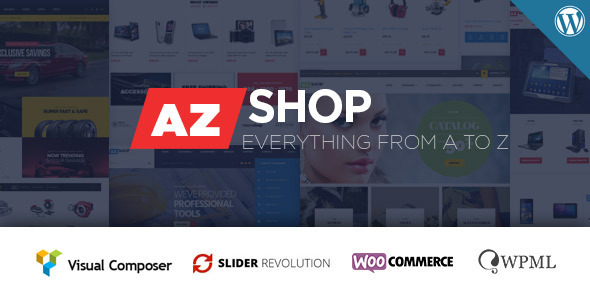 AzShop - WooCommerce WordPress Theme