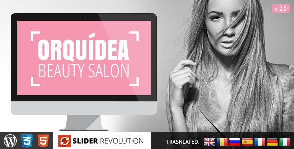 Orquidea Responsive WordPress Theme