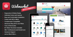 Webmarket - WP Theme for Advanced Online Shops