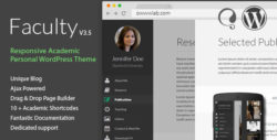 Faculty - Responsive Academic WordPress Theme