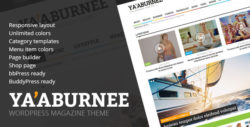 Ya'aburnee - Magazine & E-Commerce Theme