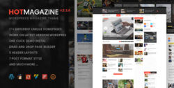 Hotmagazine - News & Magazine WordPress Theme
