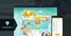 KiddoTurf - Kids WordPress Theme