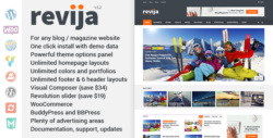 Revija – Blog/Magazine WordPress Theme