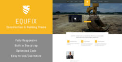 Equfix - Building & Construction WordPress Theme