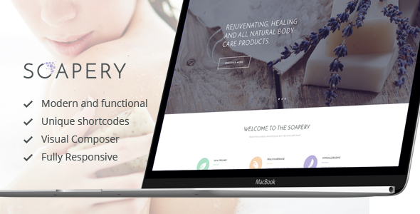 Soapery - Handmade Soap & Handcrafted Products Shop WP Theme