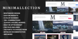 Minimallection - Responsive Minimal Blog Theme