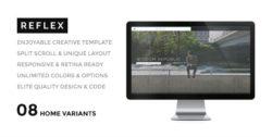 REFLEX - Enjoyable Portfolio - Creatives & Agency