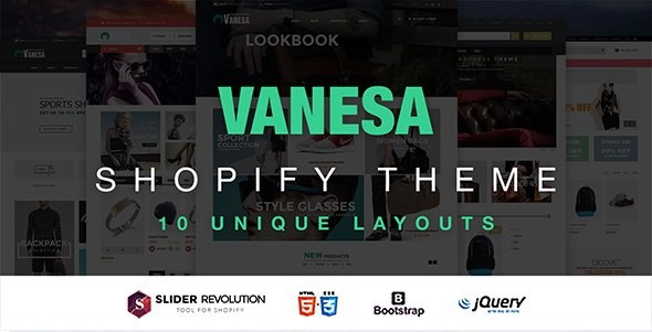 Responsive Shopify Fashion Theme