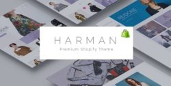 Harman - A Genuinely Multi-Concept Shopify Theme