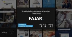 Fajar - Creative Multiuse WordPress Theme