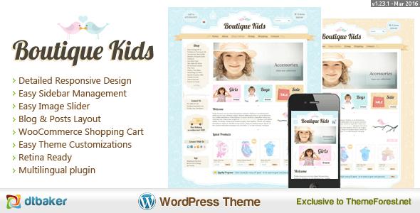 Boutique Kids Creative - WordPress WooCommerce