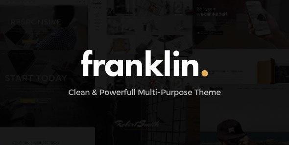 Franklin - Powerful Multi-Purpose WordPress Theme