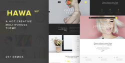 Hawa - A Hot Creative Multi-Purpose WordPress Theme