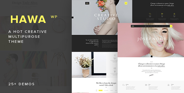 Hawa - A Hot Creative Multi-Purpose WordPress Theme