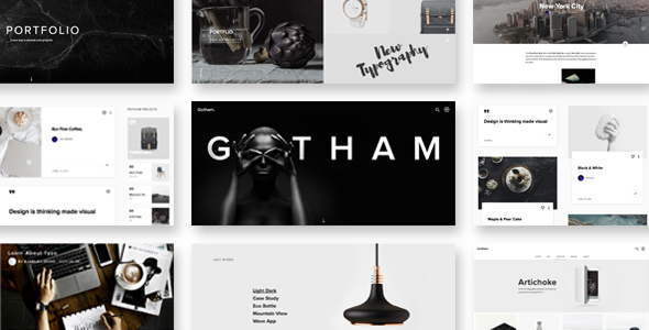 Gotham Responsive Creative WordPress Theme