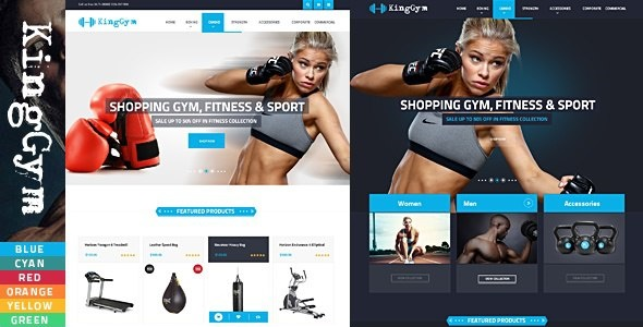 VG Kinggym - Fitness, Gym and Sport WordPress Theme