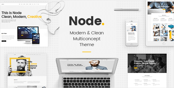 Node – Modern & Clean Multi-Concept Theme