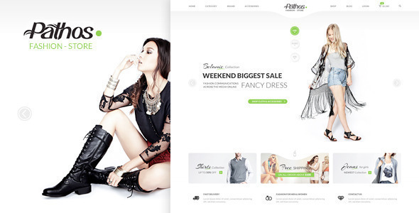 Pathos Responsive WooCommerce WordPress Theme