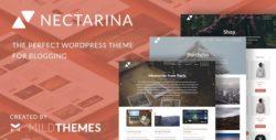Nectarina - Multi-Purpose WordPress Blog Theme