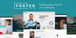 Foster - Responsive Multi-Purpose WordPress Theme